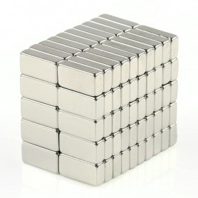 Omo Magnets 100pieces 10x5x3mm Block magnets Rectangle Magnets for Refrigerator